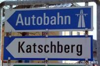 Autobahn sign