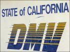 Cal DMV sign